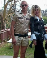 Lt. Dangle from Reno 911 Homemade Costume