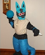 Pokemon Lucario Costume