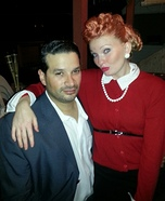 Couples Lucille Ball Costume