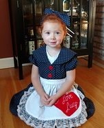 Lucille Ball Homemade Costume