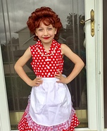 Lucille Ball Homemade Costume