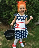 Lucille Ball I Love Lucy Homemade Costume