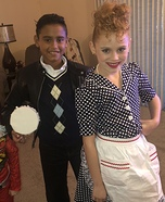 Lucy and Ricky Ricardo Homemade Costume