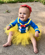 Lucy Duck Homemade Costume