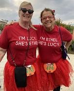 Lucy Ethel Homemade Costume