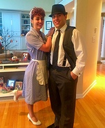 Lucy & Ricky Ricardo Homemade Costume