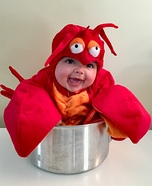 Luella the Lobster Costume