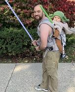 Luke Carrying Yoda Homemade Costume