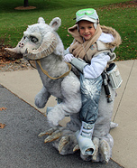 Luke Skywalker on Tauntaun Homemade Costume