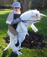 Luke Skywalker riding a Tauntaun Illusion  Costume