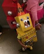 Yellow Robot Homemade Costume