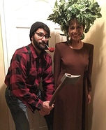 Lumber Jack Couple Homemade Costume