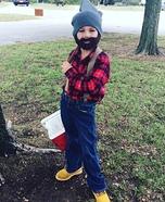 Lumberjack. Homemade Costume