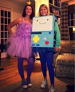 Adventure Time Lumpy Space Princess and BMO Costume
