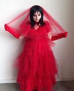 Lydia Deetz Homemade Costume