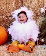 Lyrika the Baby Chick Homemade Costume