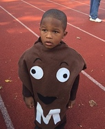 M & M Boy Homemade Costume