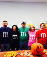 M & M's Homemade Costume