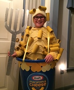 Mac and Cheese Homemade Costume