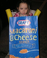 Mac N Cheese Homemade Costume