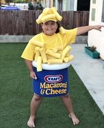 Mac & Cheese Homemade Costume