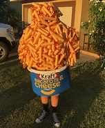 Macaroni and Cheese Homemade Costume
