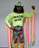 Macho Man Homemade Costume