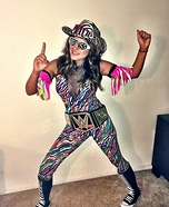 Women's Macho Man Randy Savage Costume
