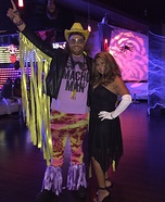 Macho Man Randy Savage and Miss Elizabeth Homemade Costume