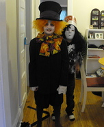 DIY Mad Hatter Costume for Boys