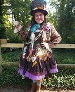 Mad Hatter Homemade Costume