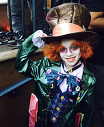 Mad Hatter Boy Homemade Costume
