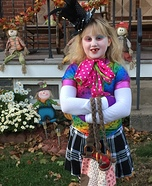 Mad Hatter Girl Homemade Costume