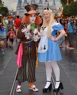 Mad Hatter & Alice Homemade Costume