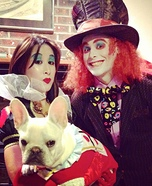 Mad Hatter, Queen of Hearts and White Rabbit Costume
