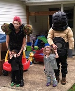 Mad Max Family Homemade Costume