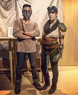 Mad Max & Imperator Furiosa Homemade Costume
