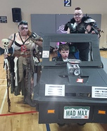 Mad Max & Wasteland Warriors Family Costume