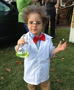 Homemade Mad Scientist Costume