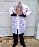 Headless Mad Scientist Costume