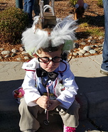 Mad Scientist Frank N Stein Homemade Costume