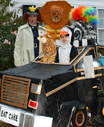Madagascar Halloween Getaway Costume