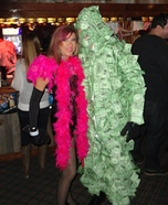 Madame Butterfly and her Money Man Costume
