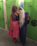 Madame Mim and Merlin Homemade Costume