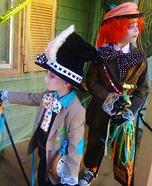 Mad Hatter & Crazy Rabbit costumes