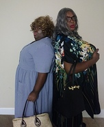 Madea and Big Mama Homemade Costume