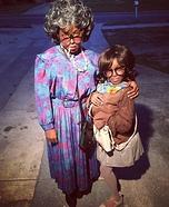 Madea and Hattie Mae Homemade Costume