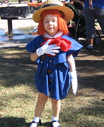 Madeline Costume for Girl