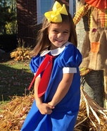 Madeline Homemade Costume