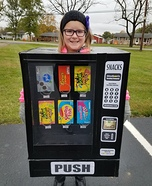 Madison's Vending Homemade Costume
